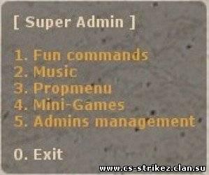 [CSS] Super Admin