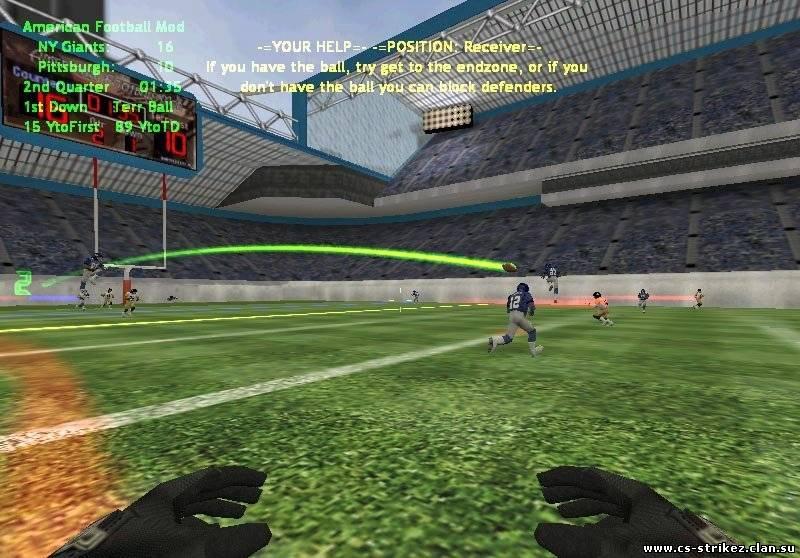 Мод American Football Mod V.5.0