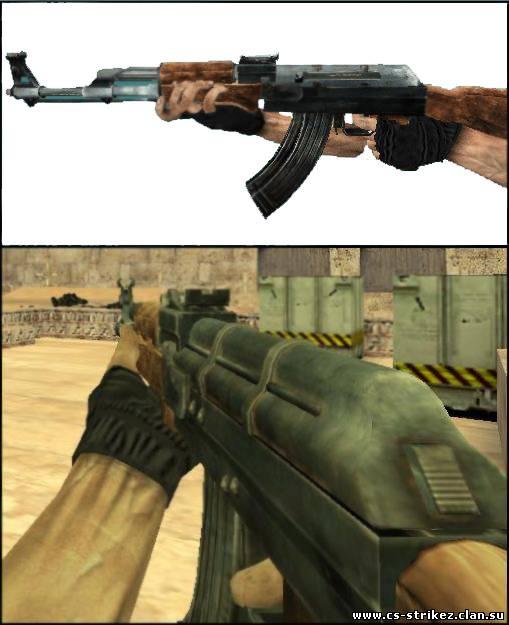 Качественная модель AK-47